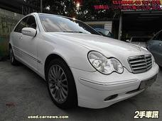 2001年式 BENZ C240 白色 中華賓士