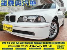 專售E39 520i紀念精裝版稀少白色2.2原版件認證車汎德高CP值車款另有黑色