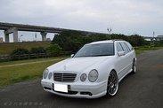 市售罕見 正牌E55 AMG WAGON 旅行車 日本東京直達 保證僅跑8萬KM