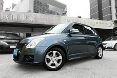 【詠信車業 SAVE認證】SWIFT SUZUKI 天窗 2007年