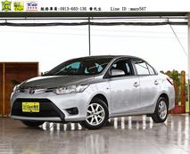 冠際車業 2014年 Toyota Vios 大改款 市區好停車 超級省油小車