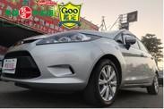 ☆╮益群汽車╭☆12年式德國進口福特FIESTA 1.4自排5門掀背 女老師用車