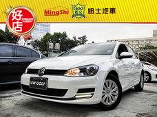 明士汽車《保證實車實價登錄 里程保證》2014 Golf 1.6 白 柴油