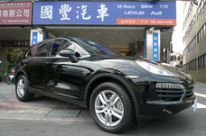 Porsche Cayenne S Diesel 4.2 2014年 導航 國豐