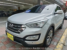 2014 HYUNDAI SANTAFE 4WD 皇家版 實車實價 興融國際