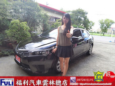 福利汽車雲林總店 豐田NEW ALTIS 1.8 七速手自排影音特飾車