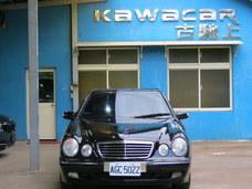 古馳上精選 實價 2001年8月出廠 賓士 E240 末代車 極美 工單完整可貸