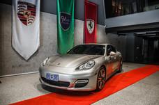 感謝您的肯定!Porsche Panamera turbo【91台北】