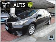 17年式 豐田 ALTIS 1.8 原廠保養 里程實跑 全額貸款專案實施中