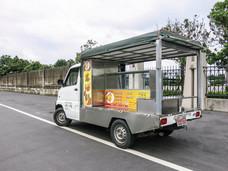 歐力克 胖卡鷗翼 行動餐車@白鐵不鏽鋼設計 驗車方便免拆裝 蓬式餐車 可改造胖卡