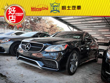 明士汽車《保證實車實價登錄 一手車 里程保證》2014 E350 3.5 黑