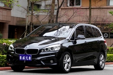 2016 BMW 218d Gran Tourer 7人座 總代理 黑色《東威》