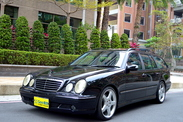 優惠中 喜歡可賞車談 經典旅行勁車 E55 可領牌 低里程 原版件 認證車