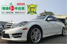 ☆╮益群汽車╭☆2013年賓士C250 AMG 女用車僅跑10萬公里 全車原版件