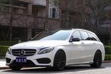 2018 Benz C250 Estate AMG 旅行車 總代理 白色《東威》