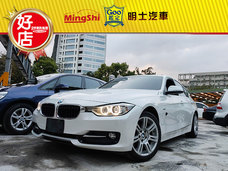 明士汽車《保證實車實價登錄 一手車 里程保證》2014 BMW 318D 2.0